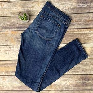Vince Slim Skinny Leg Medium Wash Denim Jeans